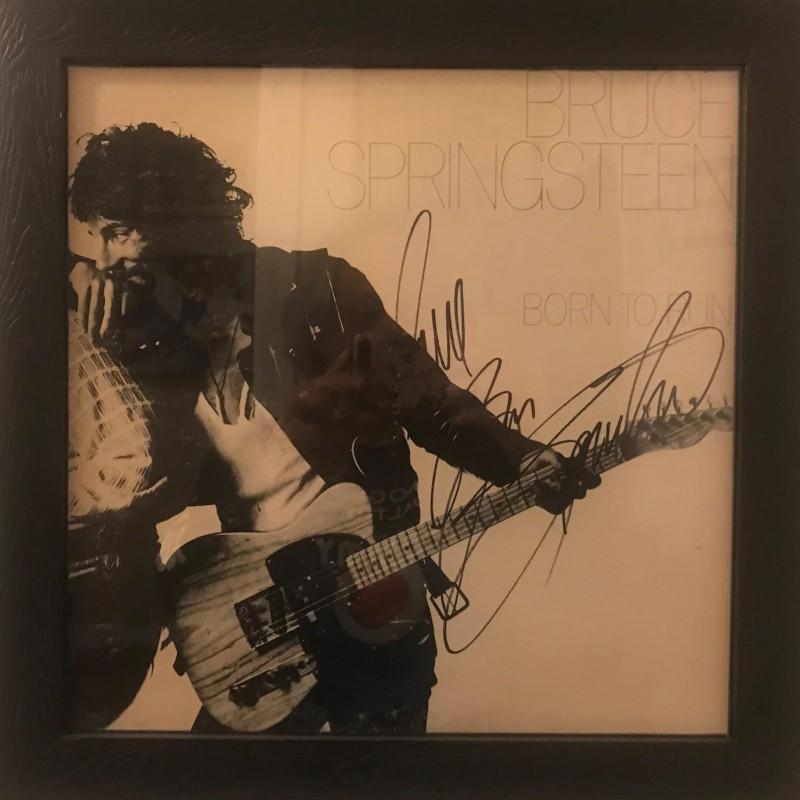 Bruce Springsteen Signed Born to Run Framed Vinyl LP
