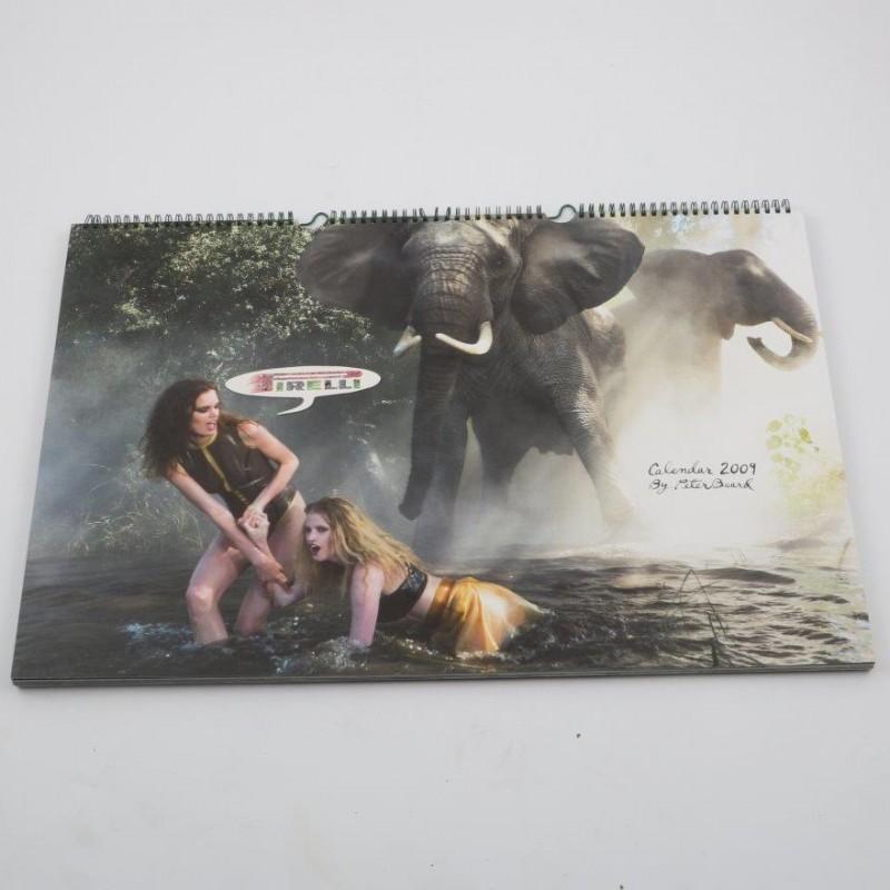 """""""Pirelli 2009"""" calendar by Peter Beard"""