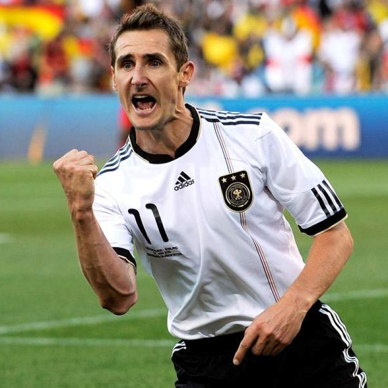 Klose's Official Germany Signed Shirt, 2010