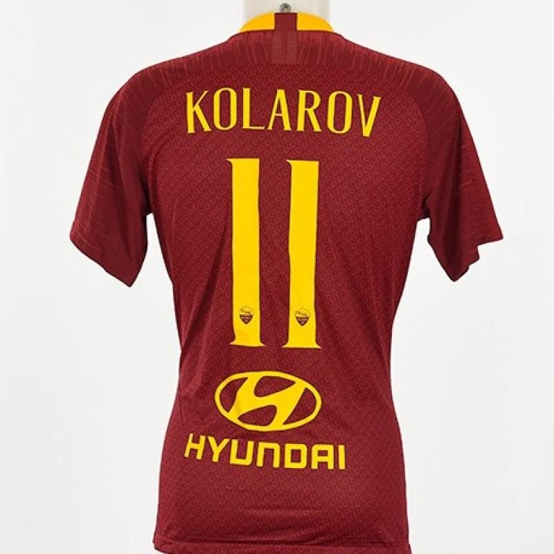Kolarov's Match-Issue Shirt, US Tour 2018
