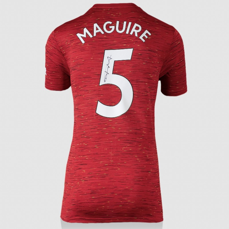 Maguire's Manchester United Signed Shirt