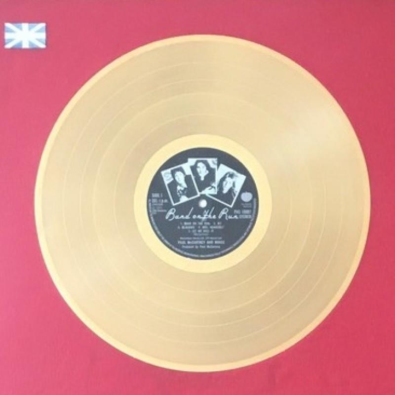 "Denny Laine Wings ""Band on the Run"" BPI Gold BPI Award"