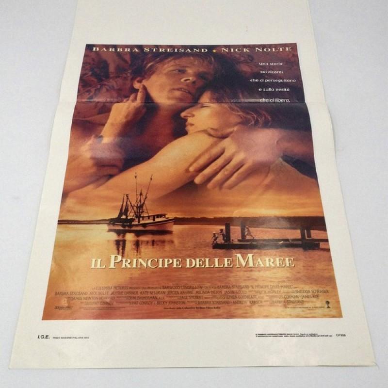 """""""Il principe delle maree"""" Italian Language Poster, 1992"""