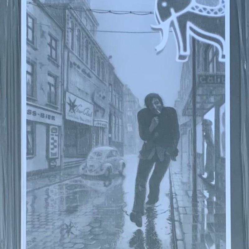Klaus Voormann Signed Framed Lithograph
