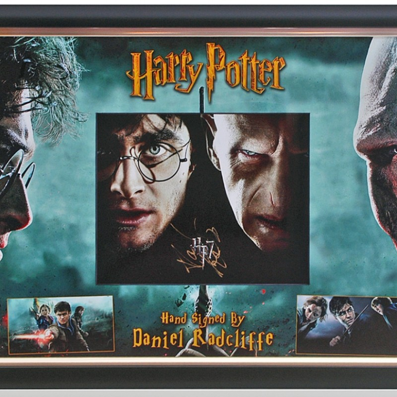 Daniel Radcliffe Hand Signed Harry Potter Presentation