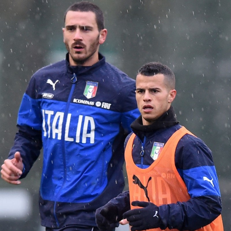 Italy Football Training Sweatshirt, 2014/15 Season