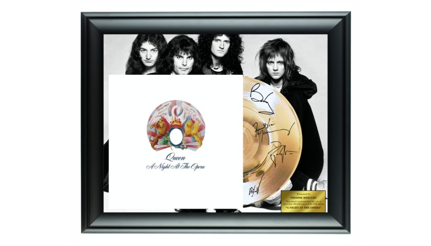 Queen Custom Framed Gold Record Display