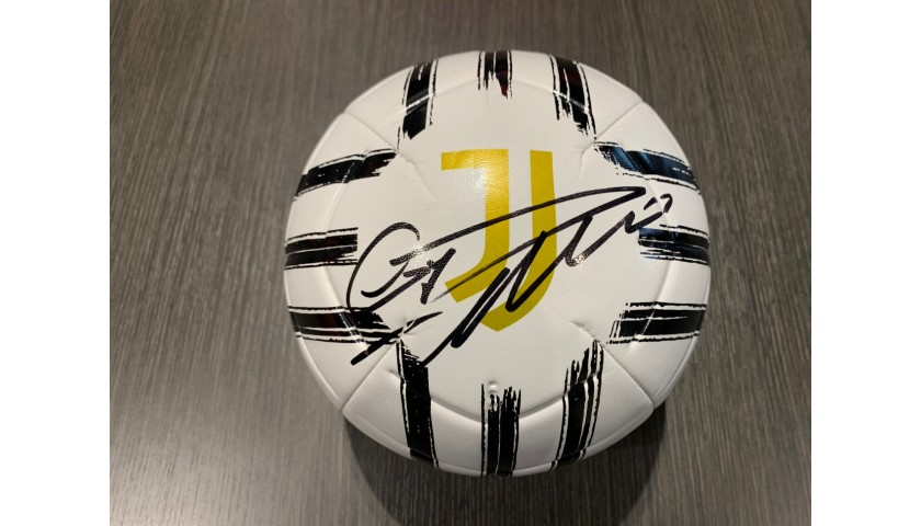 Official Juventus Football - Signed by Cristiano Ronaldo