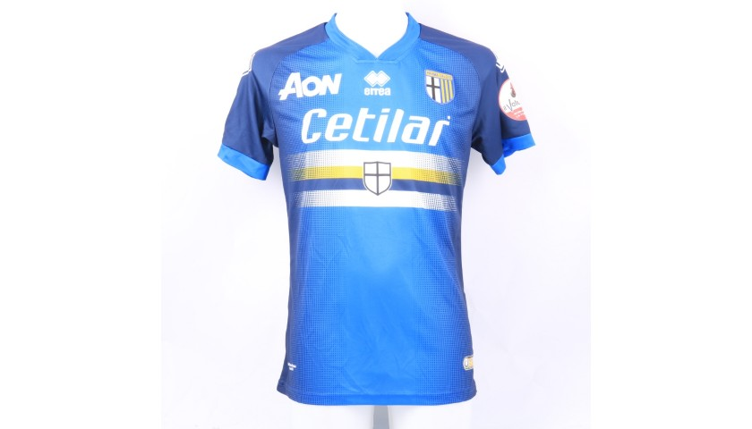 Dezi's Worn Shirt, Parma-Sampdoria - #Blucrociati