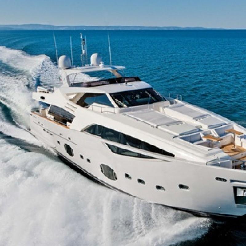 Enjoy a 3 day cruise in Cinque Terre and Portofino  aboard a luxury Ferretti yacht