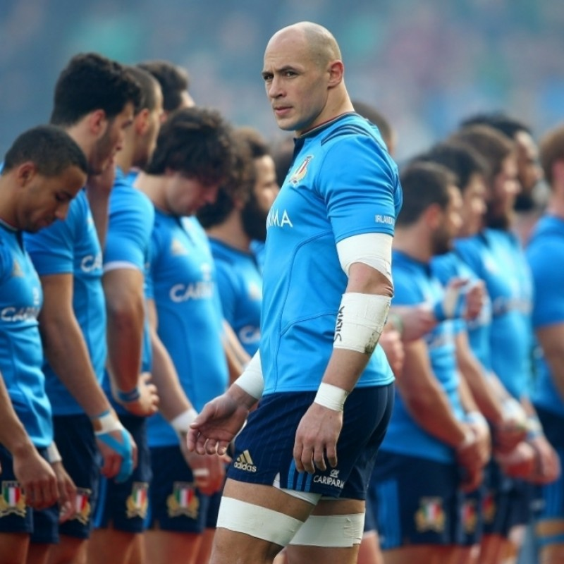 Official FIR Polo - Signed by Sergio Parisse