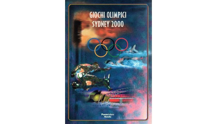 Official Stamp Folder - Sydney 2000
