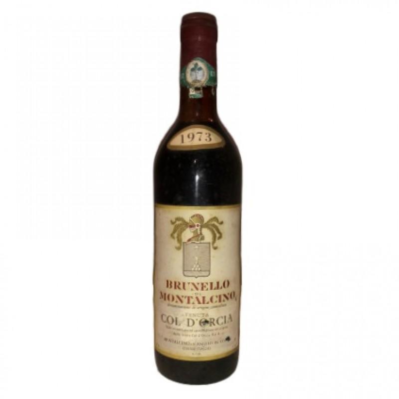 Bottle of Brunello di Montalcino, 1973 - Col d'Orcia Estate