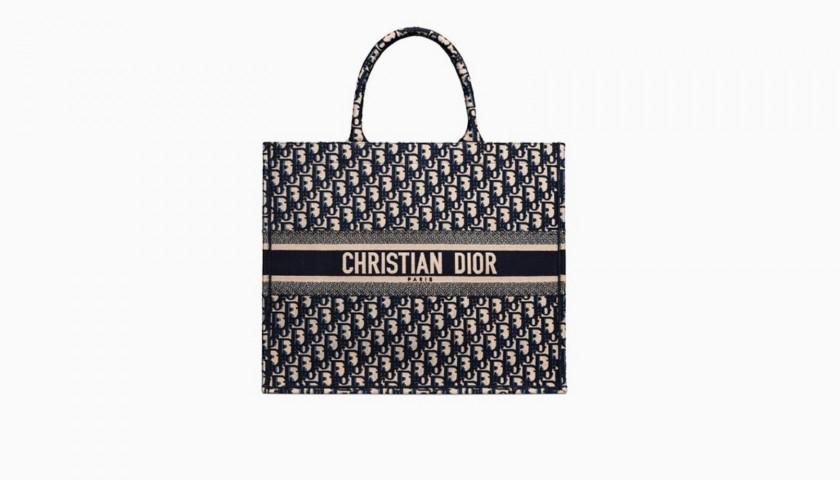 24954ac18c17 Dior Personalized Book Tote Bag - CharityStars