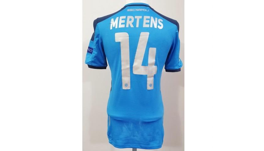 Mertens' Napoli Worn Shirt, 2019/20