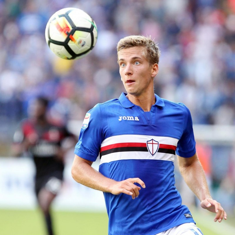 Praet's Match Shirt, Sampdoria-Milan 2017