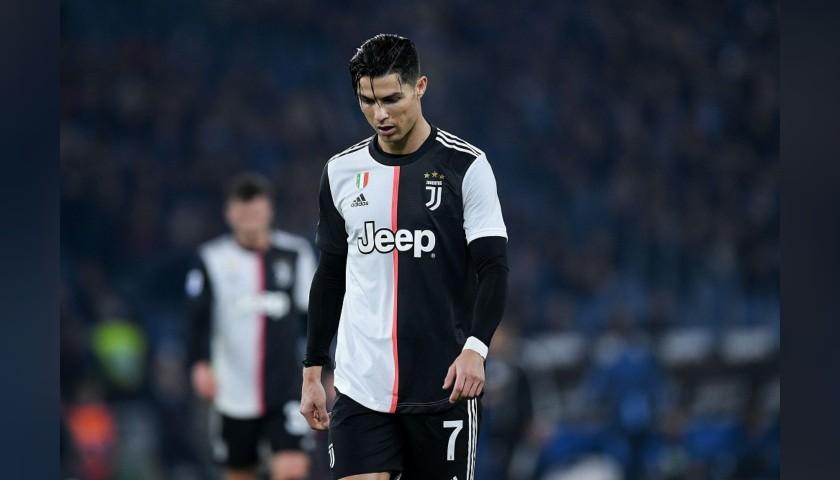 Ronaldo's Official Juventus Signed Shorts