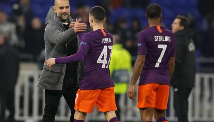 Sterling's Manchester City Match Shorts Orange, Premier League 2018/19