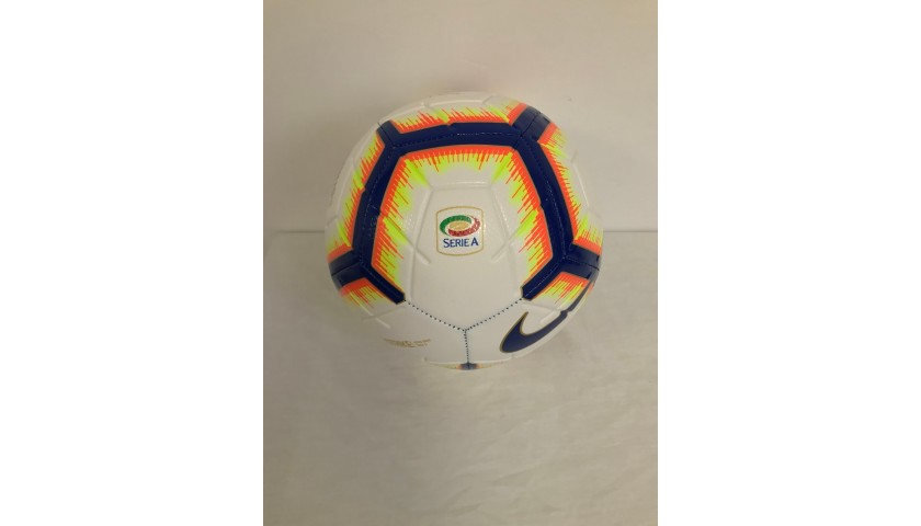 Official Serie A 2018/19 Football - Signed by Quagliarella