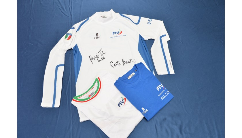 Italy Sailing Team Jersey - Signed by the Crew