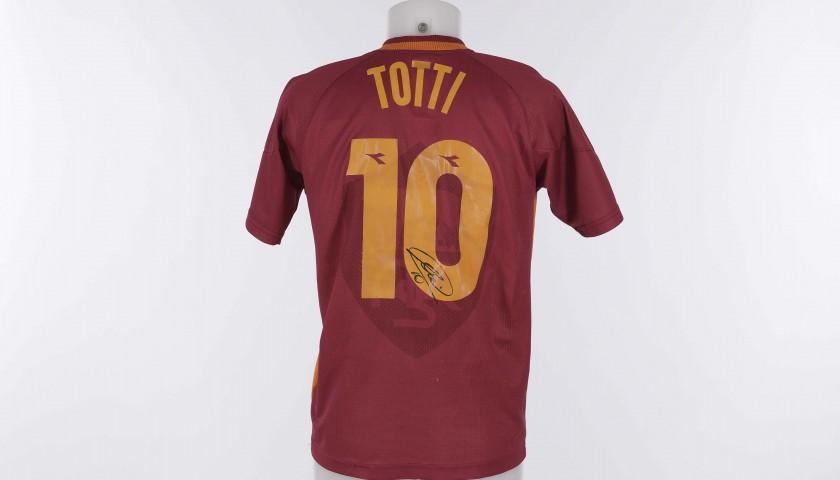 Francesco Totti's Roma Signed Shirt , 1997/1998 Season