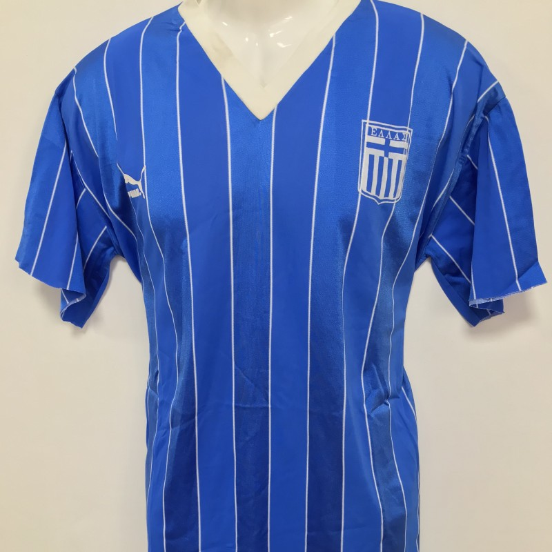 Greece Worn Shirt, 1986/87 - Cropped Sleeves