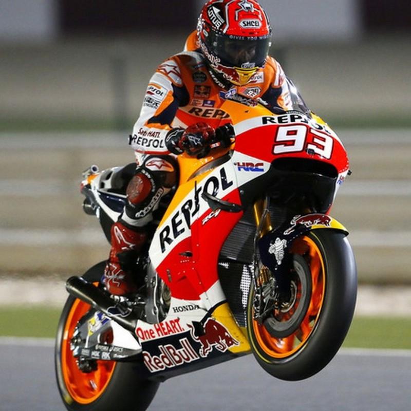 Repsol Honda Team Model Signed by Marc Marquez