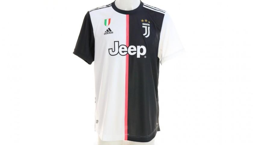 Bonucci's Authentic Juventus Signed Shirt, 2019/20