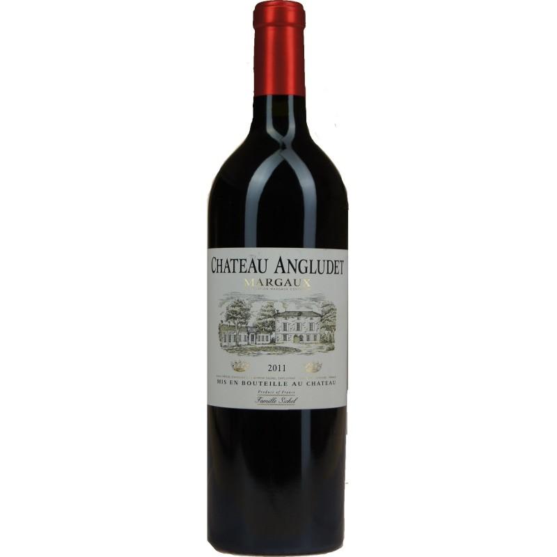 Half-Case/6 Bottles of Superb Red Wine: Château Angludet, Margaux, 2011