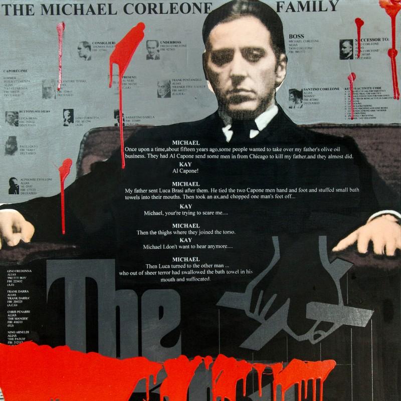 """The Godfather"" by Steve Kaufman"