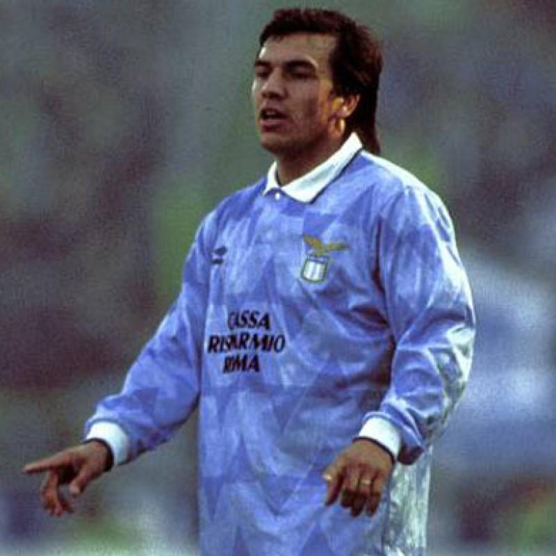 Lazio Training Shirt, 1989/90 - Signed by Sosa
