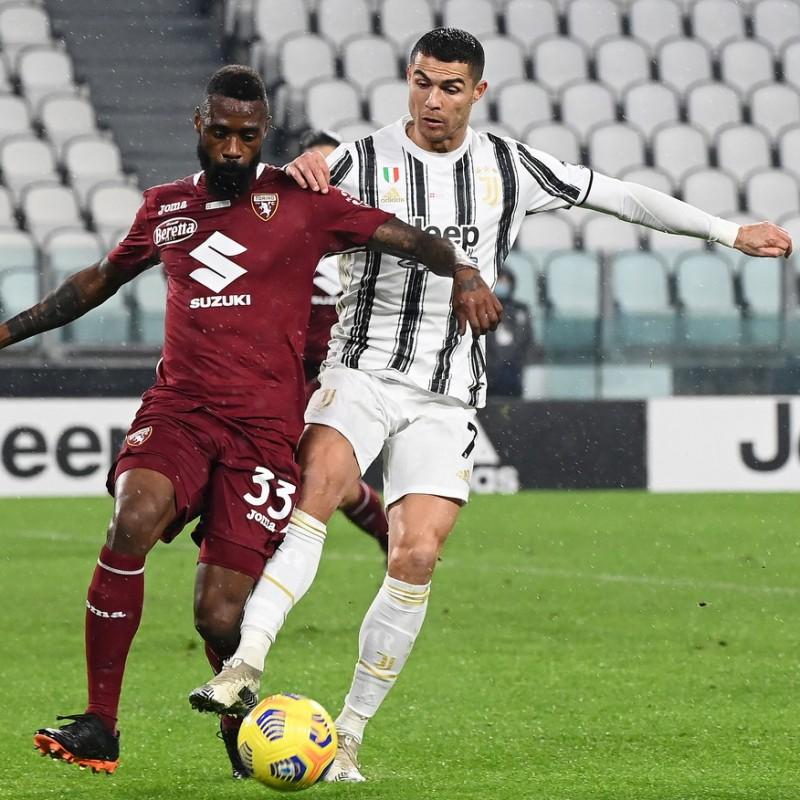 Ronaldo's Juventus-Torino 2020 Signed Match Shirt