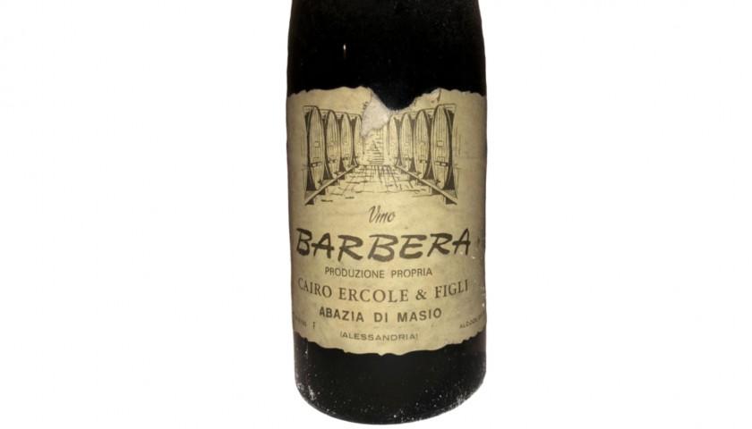 Bottle of Barbera, 1970 - Cairo Ercole & Figli