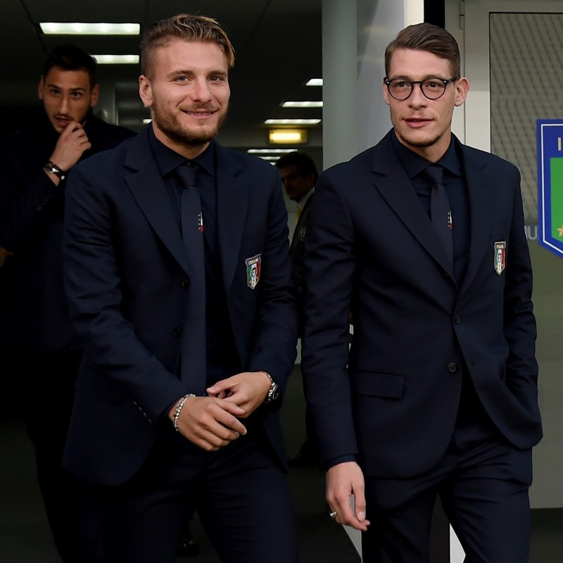 Immobile's Italy National Football Team Shirt by Ermanno Scervino