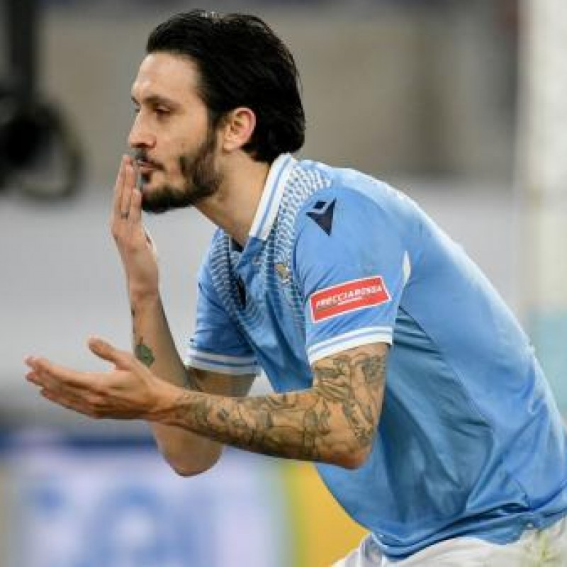 Luis Alberto's Match Shirt, Lazio-Udinese 2020 - AD10S Patch