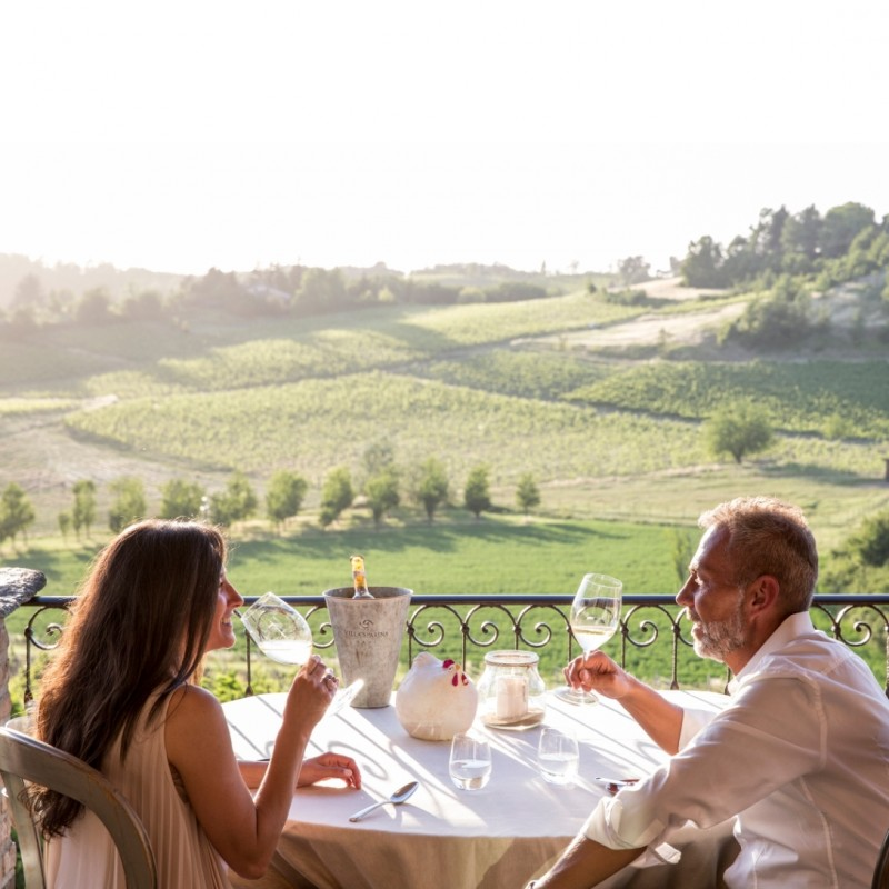 """""""A Table for Two"""" Voucher for Villa Sparina, Italy"""