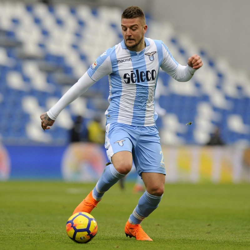 Milinkovic-Savic's Match-Issue Nike Boots, 2017/18