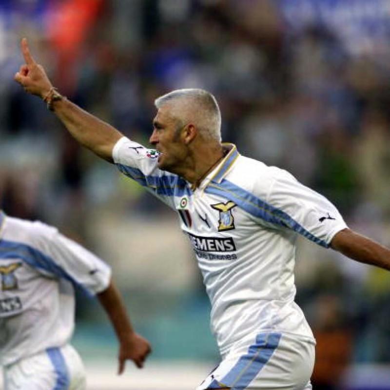 Ravanelli's Official Lazio  Signed Shirt, 2000/01