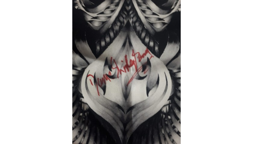 Julien McDonald Scarf, Signed by Dame Shirley Bassey