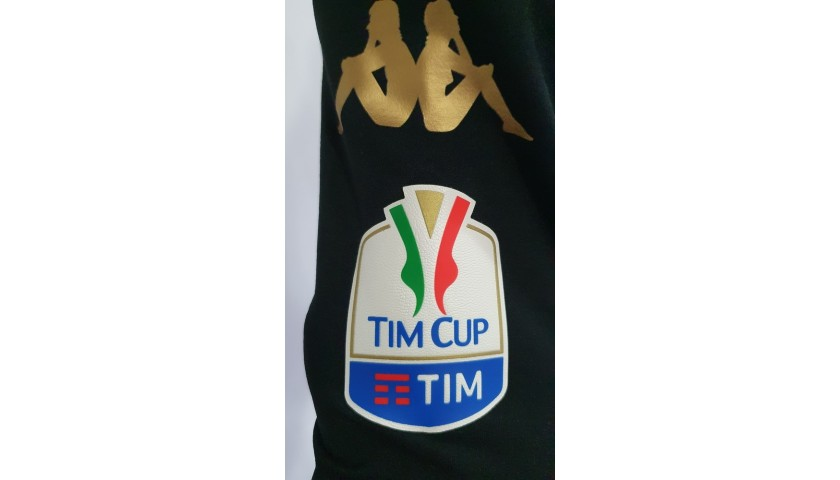 Hamsik's Napoli Worn and Signed Shirt, TIM Cup 2016/17