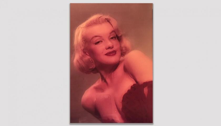 Vintage 1956 Marilyn Monroe Studio Photograph and Negative