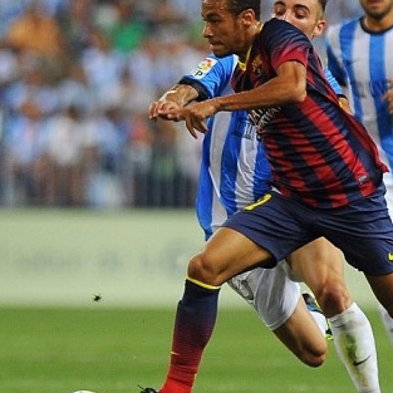 b5071b9b37c Neymar FC Barcelona signed boots
