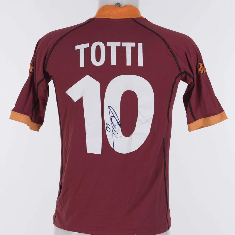 Francesco Totti s AS Roma Signed Shirt 670ef9250