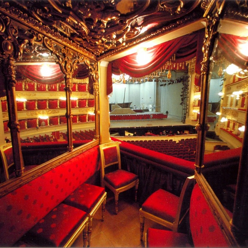 6 Box Seats for the Christoph von Dohnanyi Concert at the Scala in Milan