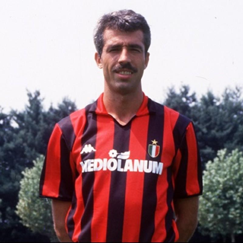 Virdis' Milan Match Shirt, 1988/89 Season