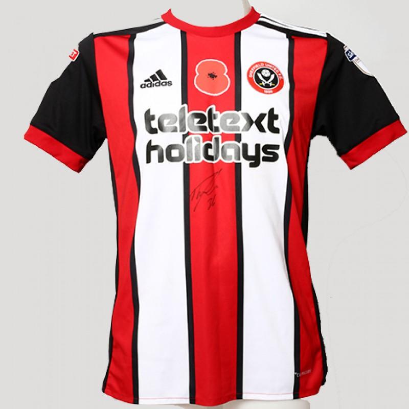 Signed Poppy shirt from Sheffield United's David Brooks
