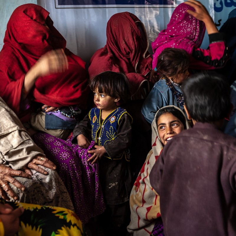 """""""Kabul - Camp for Displaced People"""" Photograph by Isabella Balena"""