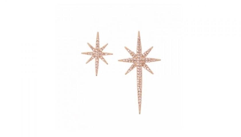 """Star"" Earrings by Federica Tosi"