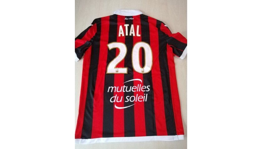 Atal's Nice Signed Match Shirt, 2018/19