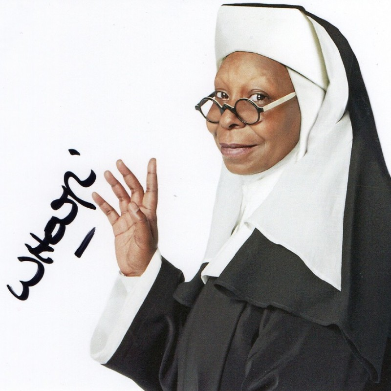 Photograph Signed by Whoopi Goldberg